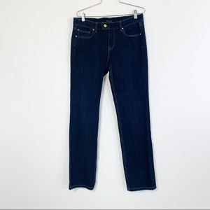 White House Black Market 10R Jeans Slim Leg